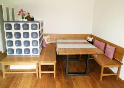 Bank und Tisch in Eiche 003